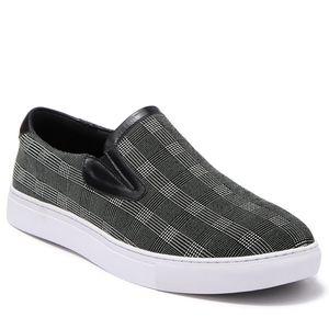 Robert Graham Seldon leather plaid shoes 9.5